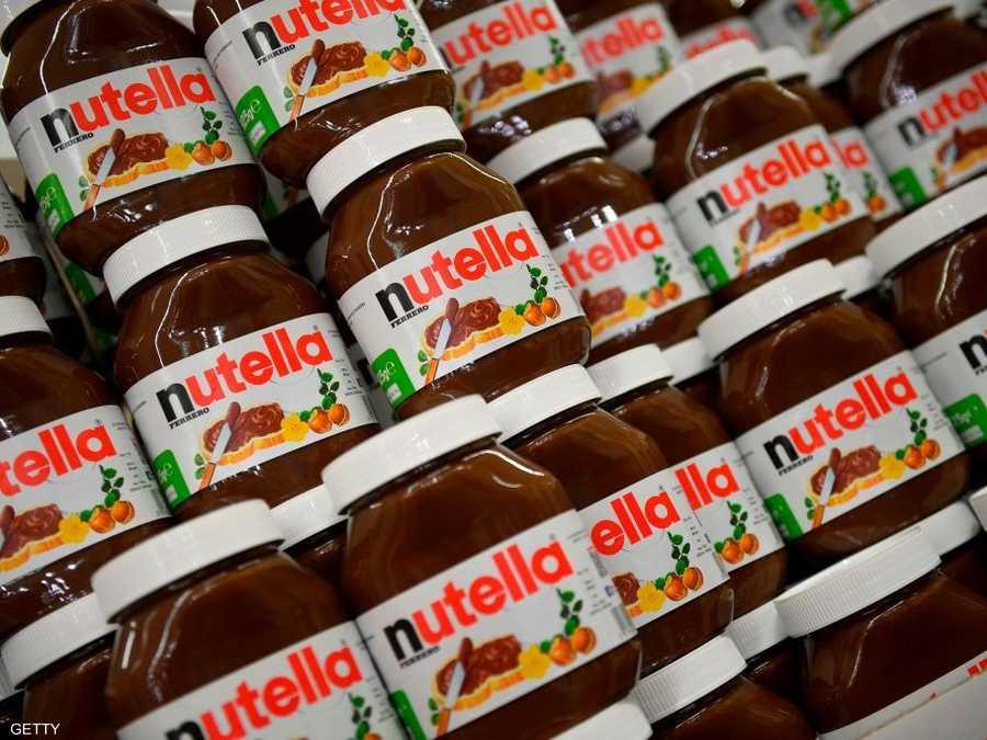 اتهام الشركة المنتجة لنوتيلا بتضليل المستهلكين