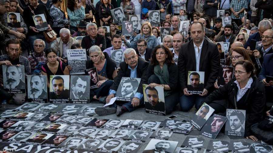 وتشهد تركيا وأرمينيا وغيرها من الدول في أبريل من كل عام وقفات تستذكر الضحايا.