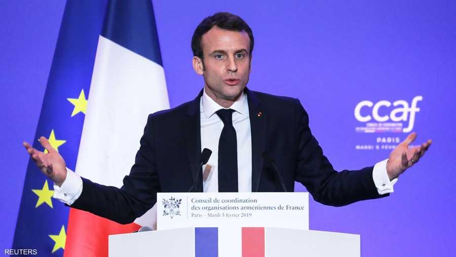 وجاء إعلان ماكرون عن تخصيص يوم وطني في فرنسا في ذكرى ضحايا الإبادة، إيفاء بوعده لممثلي المنظمات الأرمنية.
