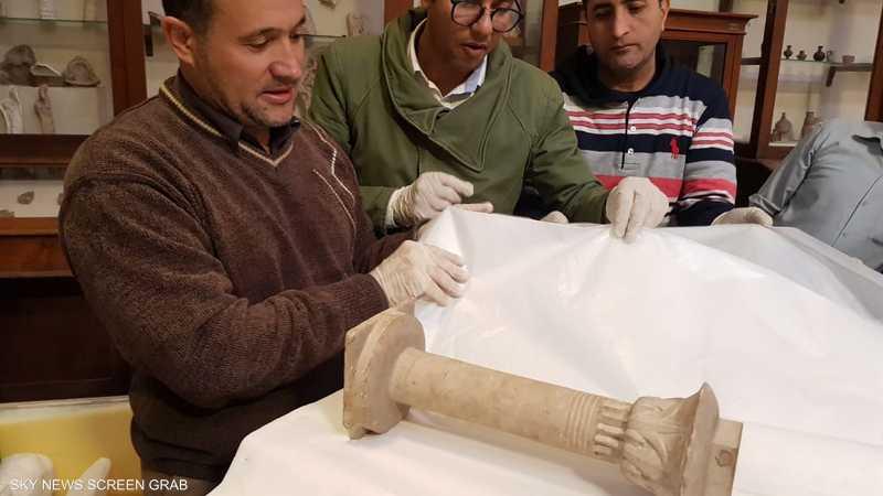 بمئات القطع مصر تنفذ عملية ضخمة بمشروع المتحف الكبير,آثار المتحف المصري المتحف المصري الكبير 1-1225439.jpg