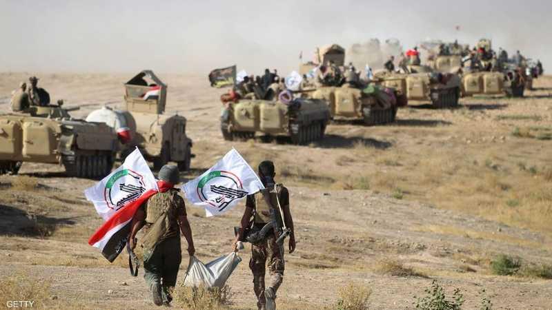 """الحشد يحاصر """"داعش"""" بين العراق وسوريا"""