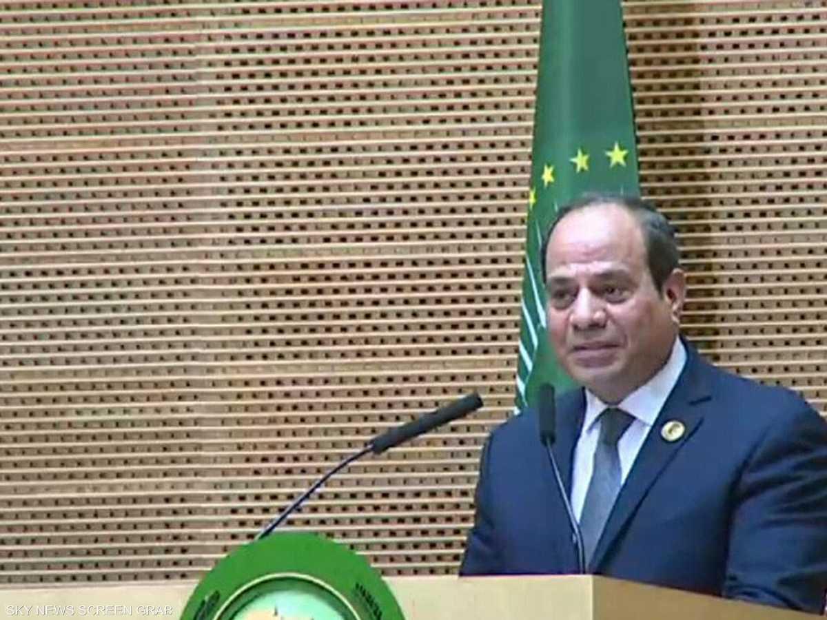 مصر تترأس القمة الأفريقة للعام 2019.