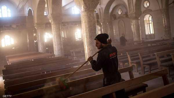 الأحياء المسيحية في برطلة شبه مهجورة من سكانها.