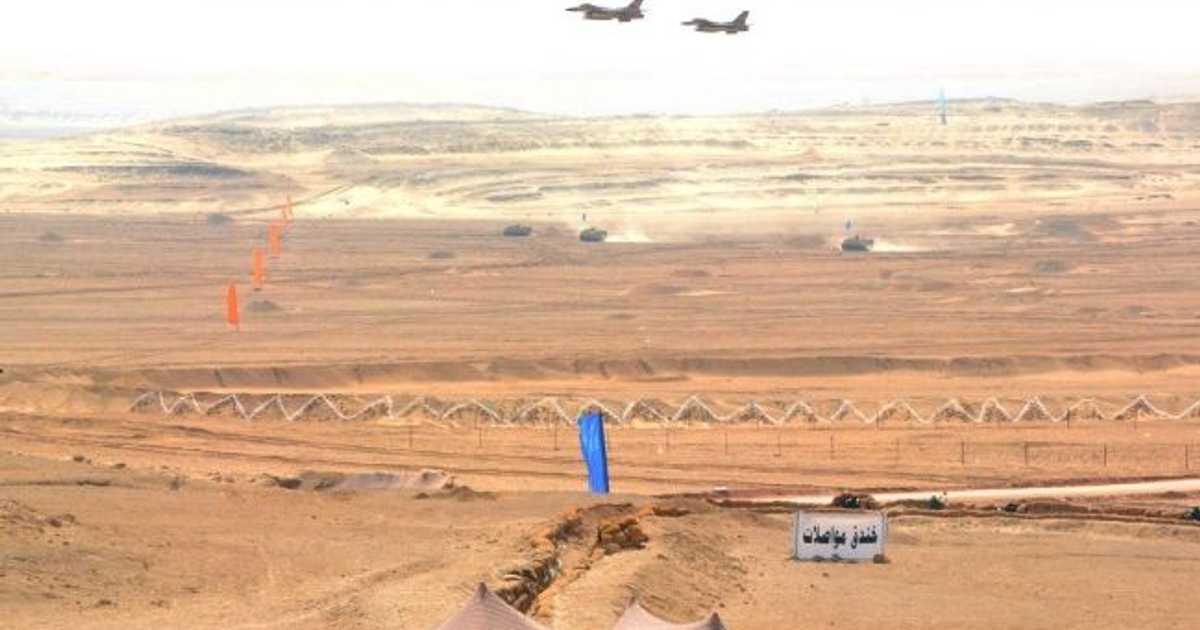 الجيش المصري ينفذ تدريب