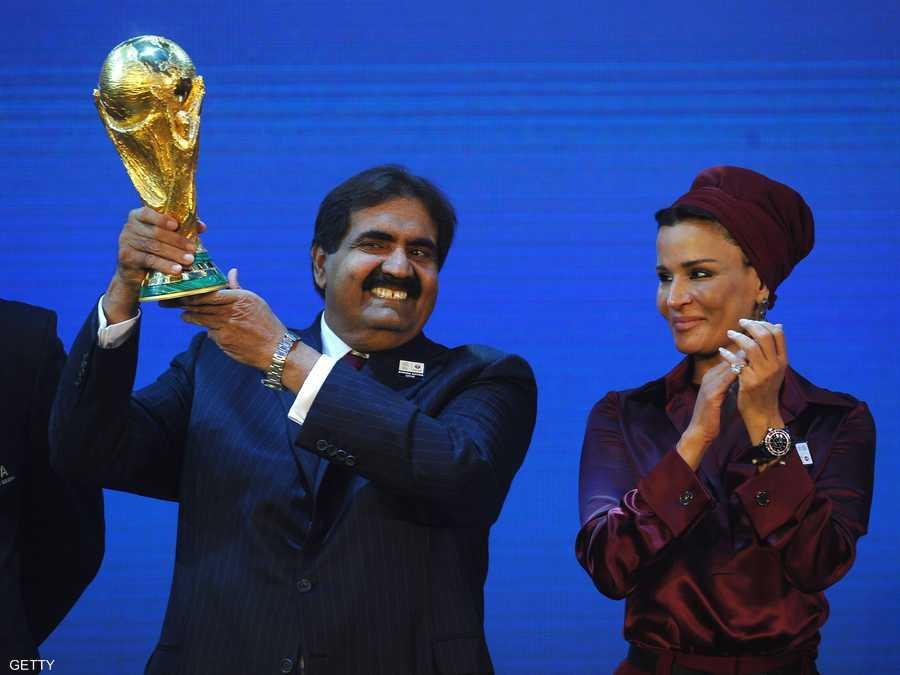 قطر فازت بتنظيم كأس العالم في 2010