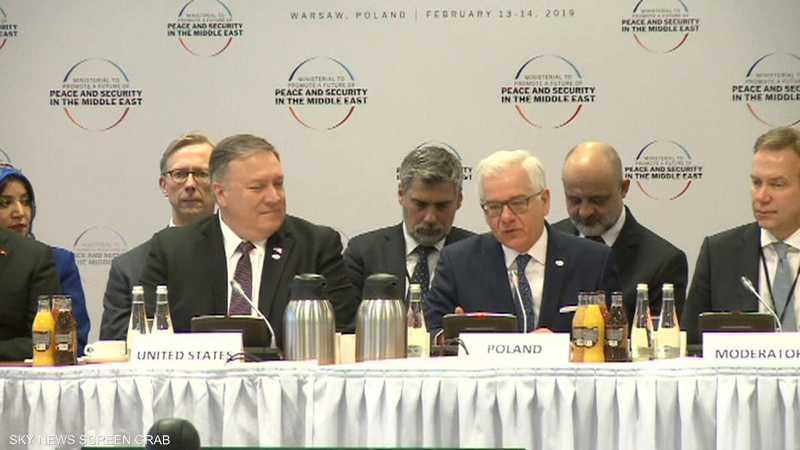 تهديدات إيران والإرهاب يتصدران أعمال مؤتمر وارسو