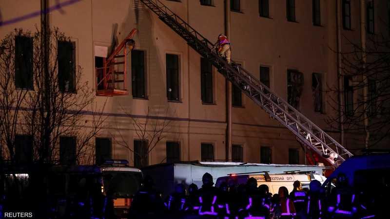 انهيار مبنى جامعي في روسيا وأنباء عن العشرات تحت الأنقاض 1-1227994.JPG