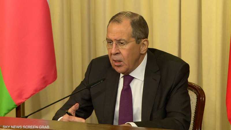 لافروف: عودة المسلحين يجب أن تتم وفق معايير الأمم المتحدة