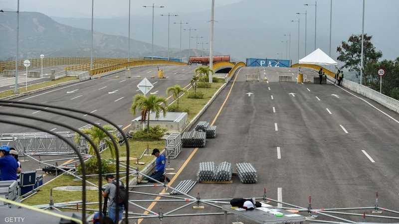 """حرب حفلات"""" على الحدود الفنزويلية الكولومبية 1-1228584.jpg"""