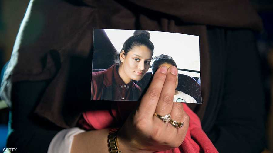 شقيقة شاميما بيجوم تعرض إحدى صورها