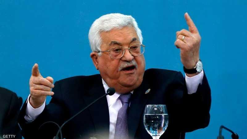 عباس أكد على أن عملية السلام على وشك الانهيار.