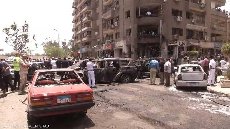 موقع اغتيال النائب العام في مصر