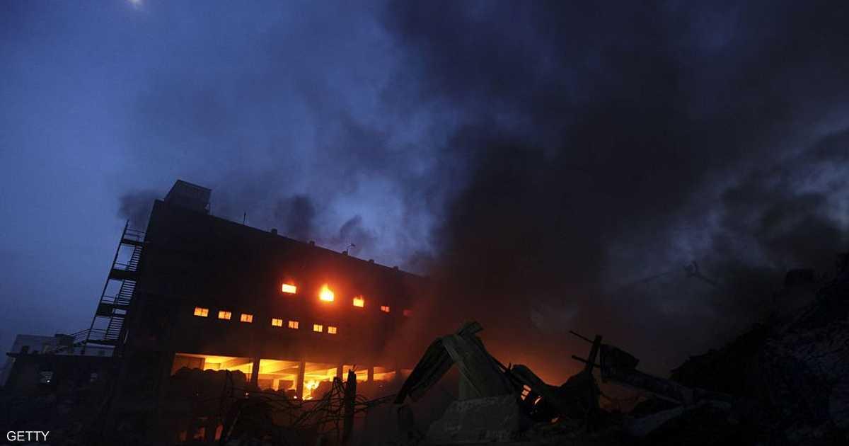 بنغلاديش.. مقتل العشرات في حريق بمبنى سكني