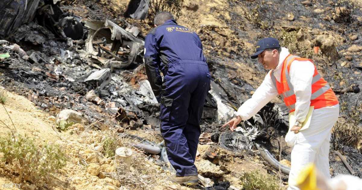 قتيلان في سقوط طائرة مروحية بالجزائر