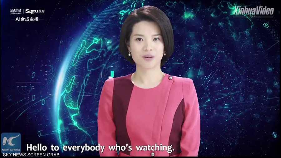 وداعا للبشر.. وكالة أنباء صينية تستخدم مذيعة روبوت لقراءة الأخبار