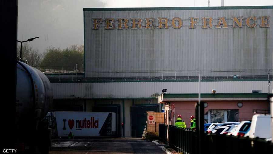 مصنع فيريرو في فرنسا تم إيقافه مؤقتا عن العمل