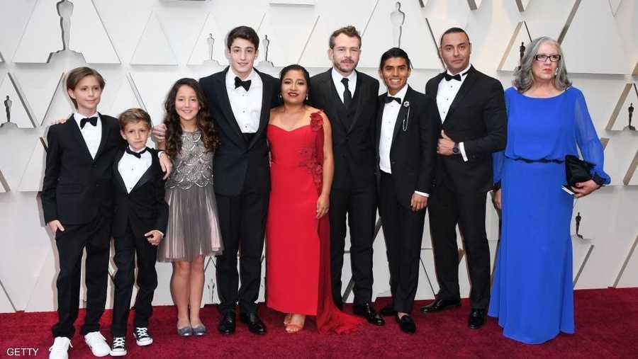 """حصل فيلم """"روما"""" الأبيض والأسود على جائزة الأوسكار لأفضل فيلم أجنبي، بعد أن أحرز قبل أسابيع جائزة الأكاديمية البريطانية لفنون السينما والتلفزيون (بافتا) لأفضل فيلم."""