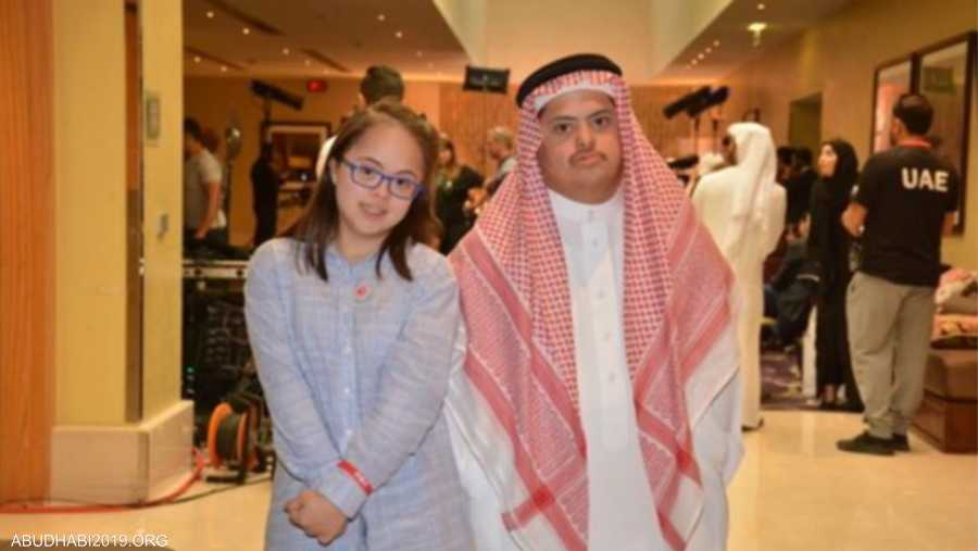 """من بين المشاركين في منافسات """"البوتشي""""، سارة فلمبان، التي تعتبر واحدة من بين 14 فتاة رياضية تشارك في منافسات الألعاب العالمية ضمن الفريق السعودي"""