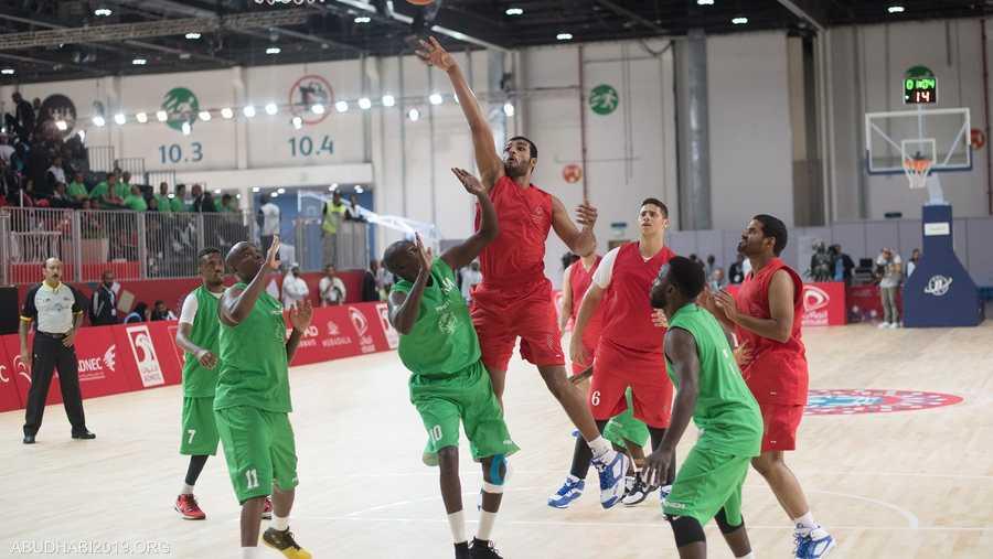 """كرة السلة أيضا من الرياضات المدرجة في """"الأولمبياد الخاص الألعاب العالمية 2019 أبوظبي"""""""