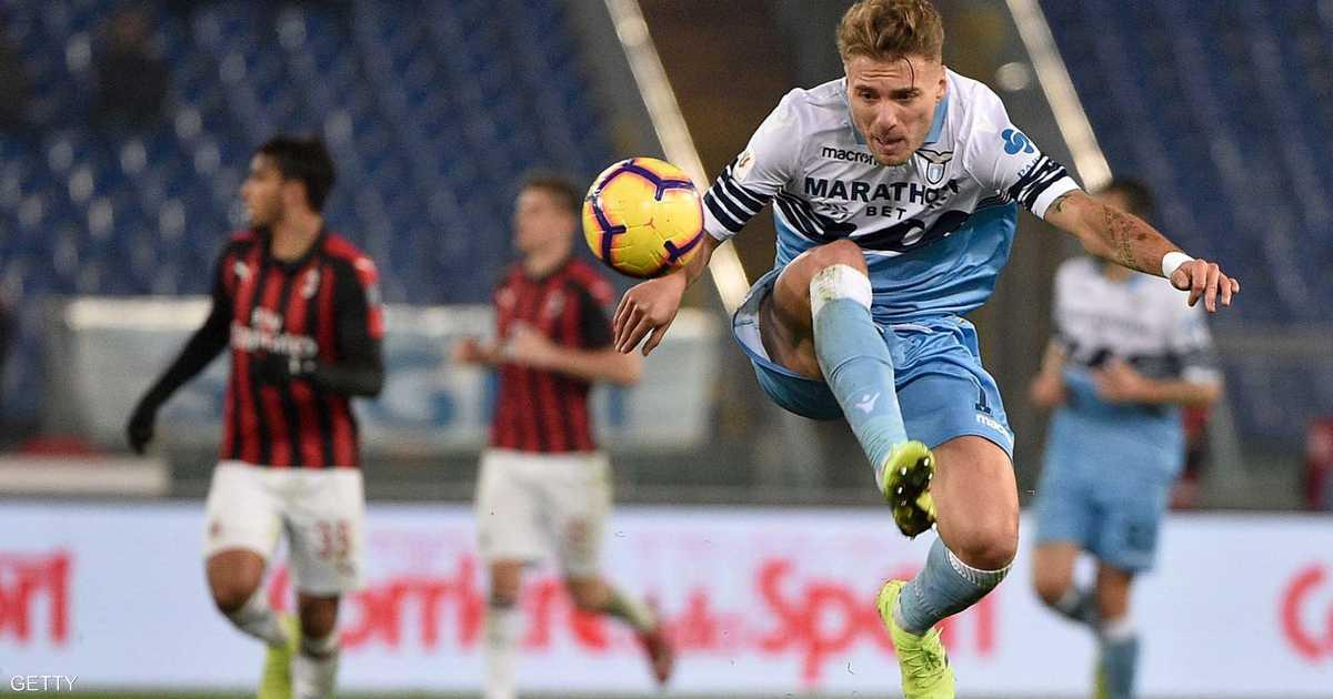 ميلانو يفرض التعادل على لاتسيو قبل نهائي كأس إيطاليا