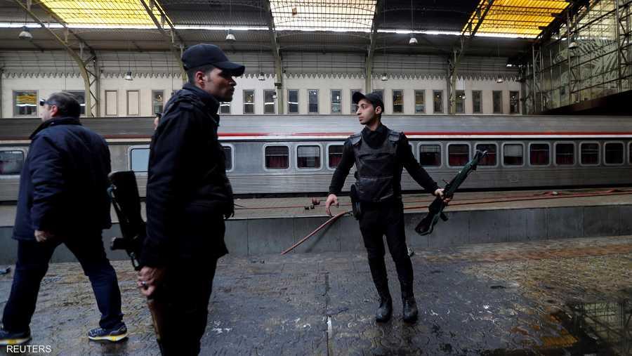 هيئة السكة الحديدية المصرية أوقفت حركة القطارات مؤقتا