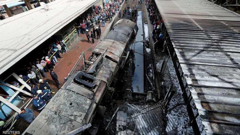 رسميا.. الكشف عن سبب كارثة قطار رمسيس 1-1231289.JPG