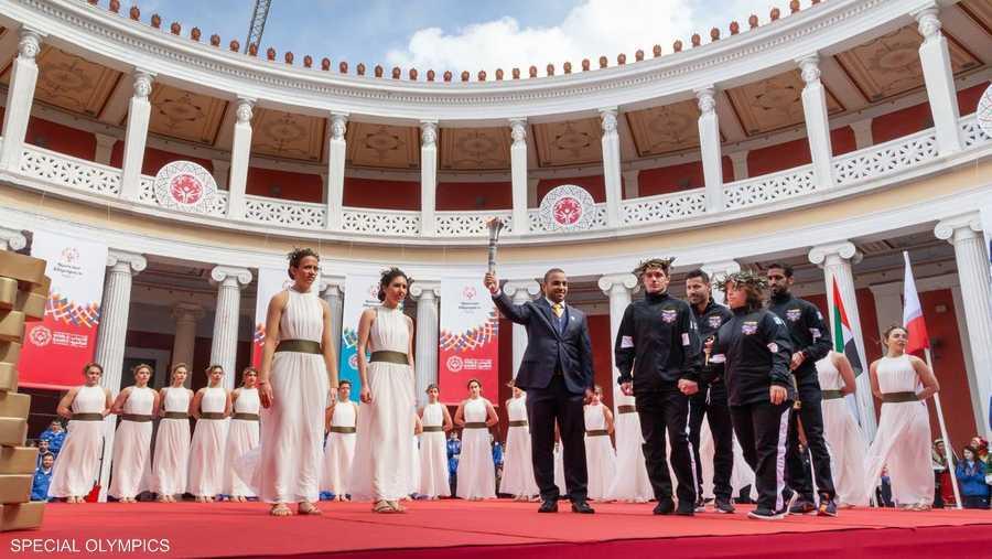 مراسم حفل الشعلة في مهد الألعاب الأولممبية.. أثينا