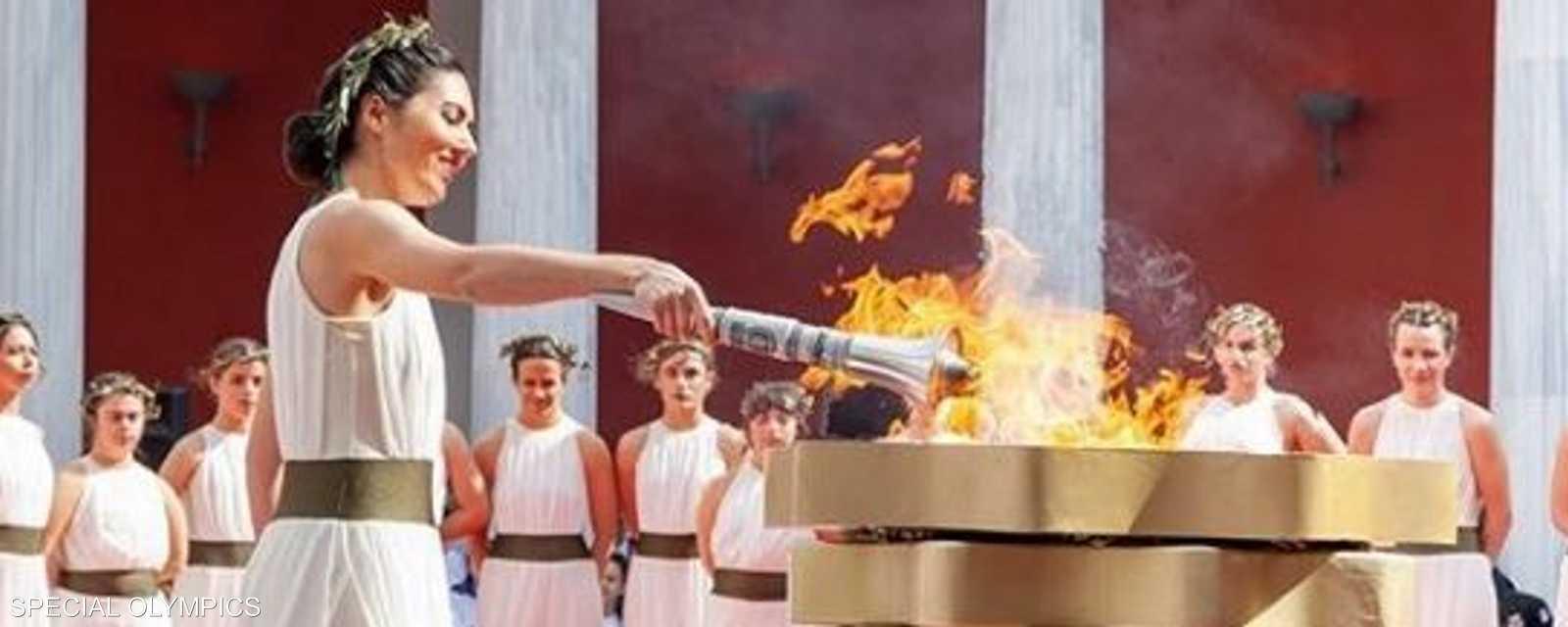 مراسم الشعلة في اليونان
