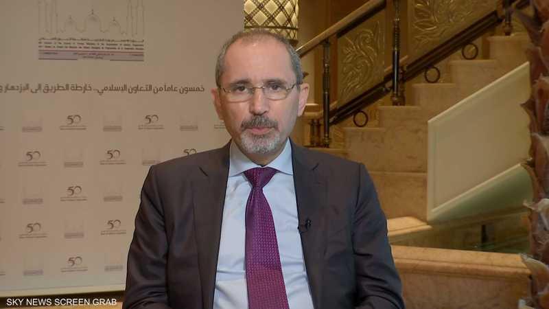 وزير الخارجية الأردني أيمن الصفدي