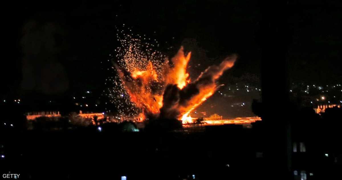 غارات إسرائيلية على غزة بعد إطلاق صاروخين على تل أبيب