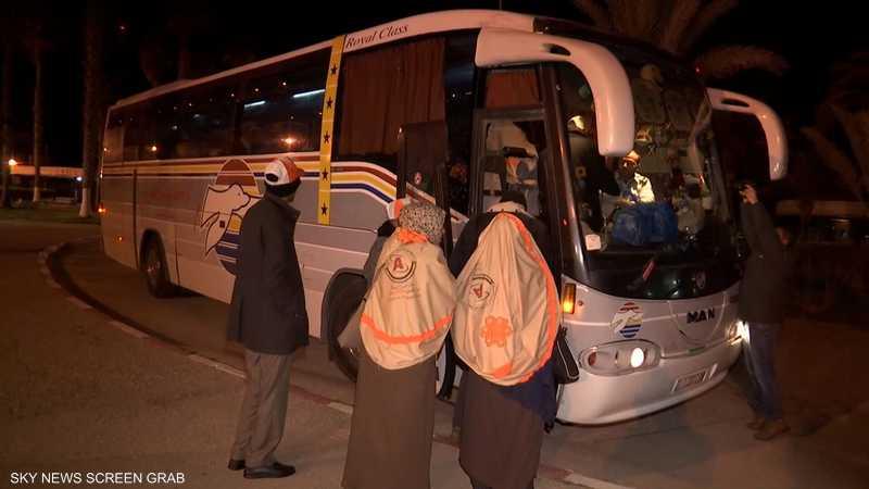 استئناف رحلات العمرة من قطاع غزة
