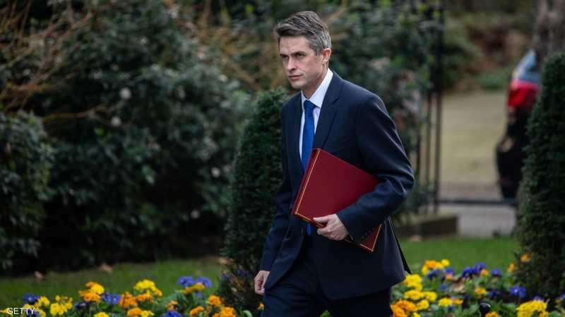 وزير الدفاع البريطاني غافين ويليامسون