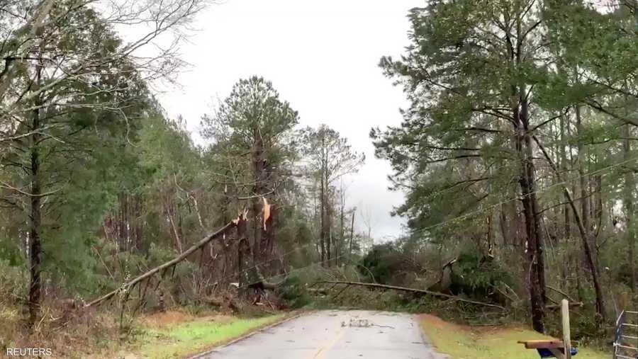 سرعة الإعصار بلغت 165 ميلا في الساعة