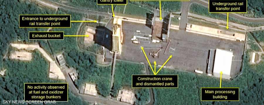 تقارير: بيونغيانغ ماضية في إعادة بناء موقع تجارب صاروخية