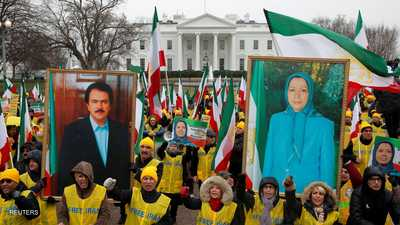 """المعارضة تتظاهر في واشنطن للمطالبة بـ""""تغيير النظام"""" في طهران"""