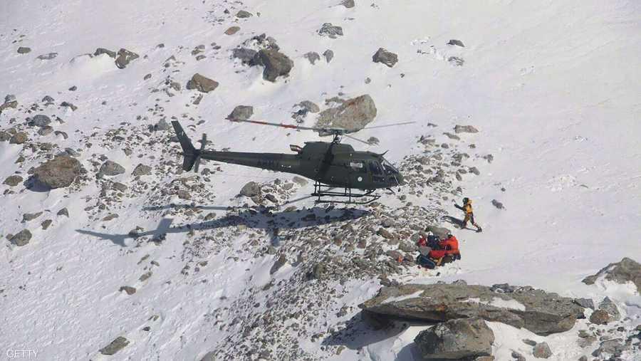 جبل نانغا باربات يسمى بالجبل القاتل لكثرة الحوادث عليه
