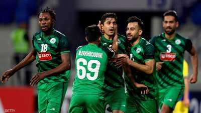 ذوب آهن الإيراني يتغلب على النصر السعودي