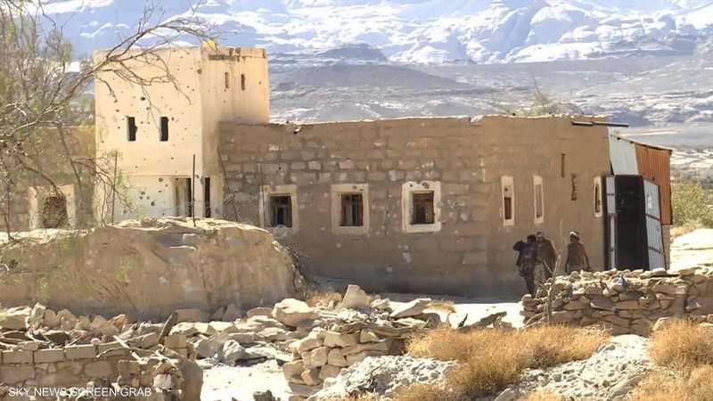 الجيش اليمني يتقدم باتجاه مديرية مجز