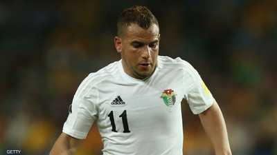 """الإيقاف للاعب أردني بعد حركة """"قذرة"""" أمام الجمهور"""