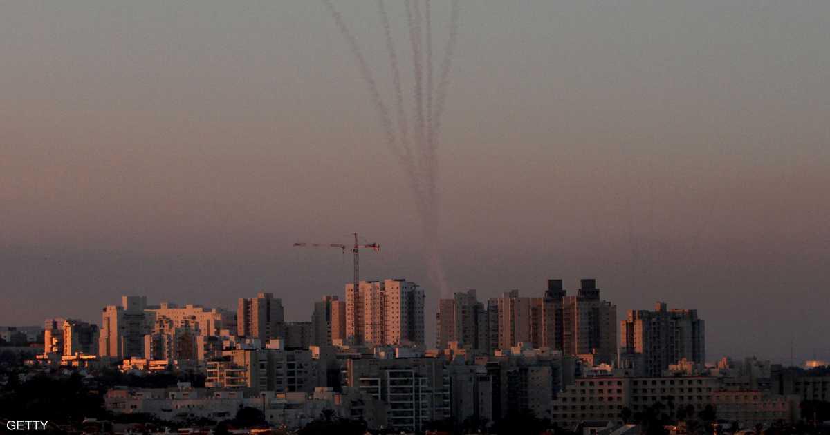 القبة الحديدية تعترض صواريخ أطلقت من غزة باتجاه تل أبيب