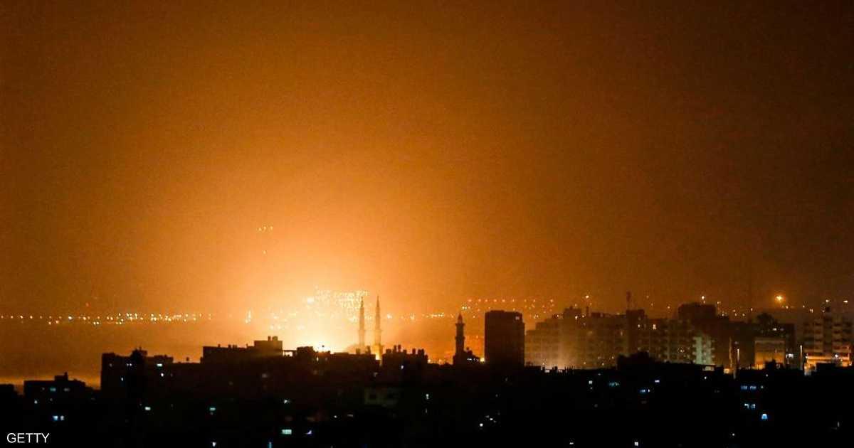 إسرائيل تستهدف 100 موقع في غزة.. وسقوط ضحايا