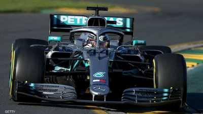 """هاميلتون """"على حاله"""" في افتتاح موسم """"فورمولا 1"""""""