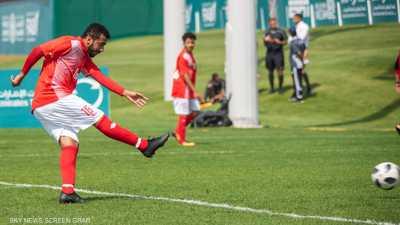 منتخب الإرادة الإماراتي يهزم الفريق الجنوب أفريقي