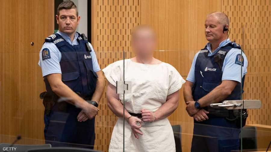 """رسميا: نيوزيلندا توجه تهمة """"الإرهاب"""" ضد منفذ مجزرة المسجدين"""