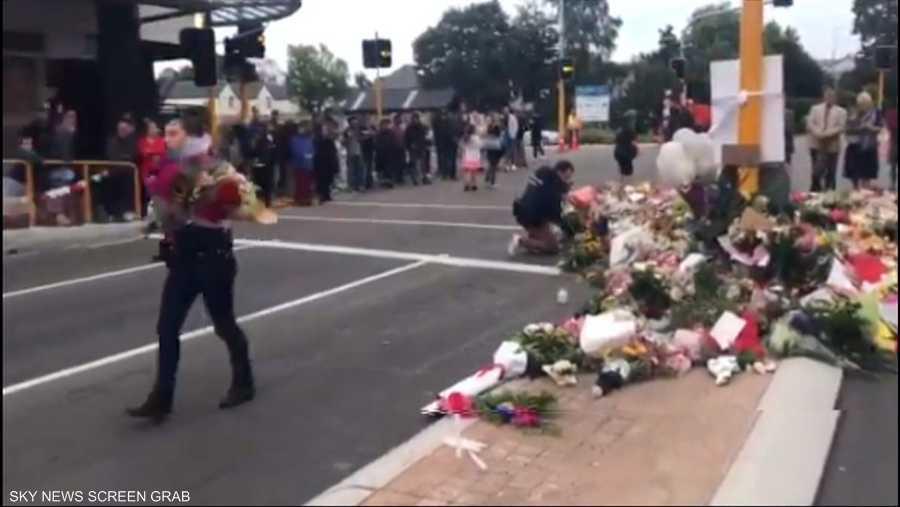 """""""وداع الورود"""" في نيوزيلندا"""