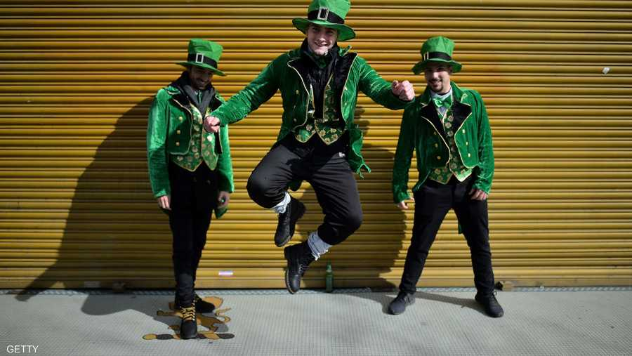 أجواء تغمرها السعادة في دبلن يوم 17 مارس