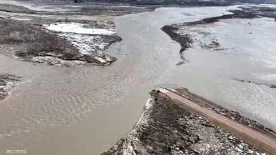 فيضانات في ولايات أميركية وتوقعات بارتفاع منسوب مياه الأنهار