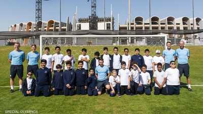 """""""سيتي أبوظبي"""" تنظم حصصا تدريبية لرياضيي الأولمبياد الخاص"""