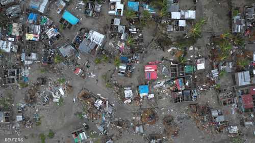 """يرجح أن يكون الإعصار """"إيداي""""، الذي ضرب البلاد خلال الأيام الماضية، قد أودى بحياة ألف شخص."""