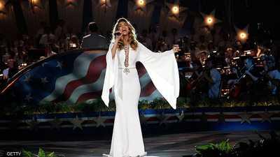 ألمع نجوم الغناء في حفل ختام الأولمبياد الخاص